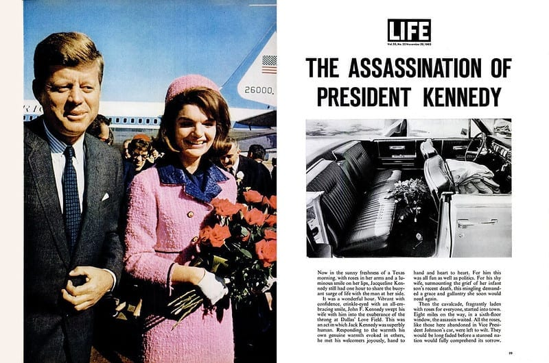 facts about Assassination of John F Kennedy