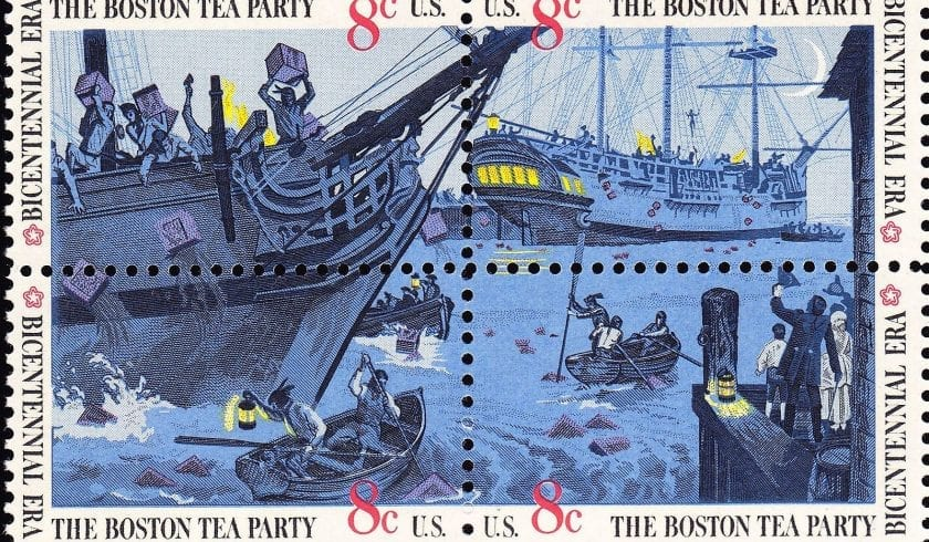 facts about the Boston Tea Party