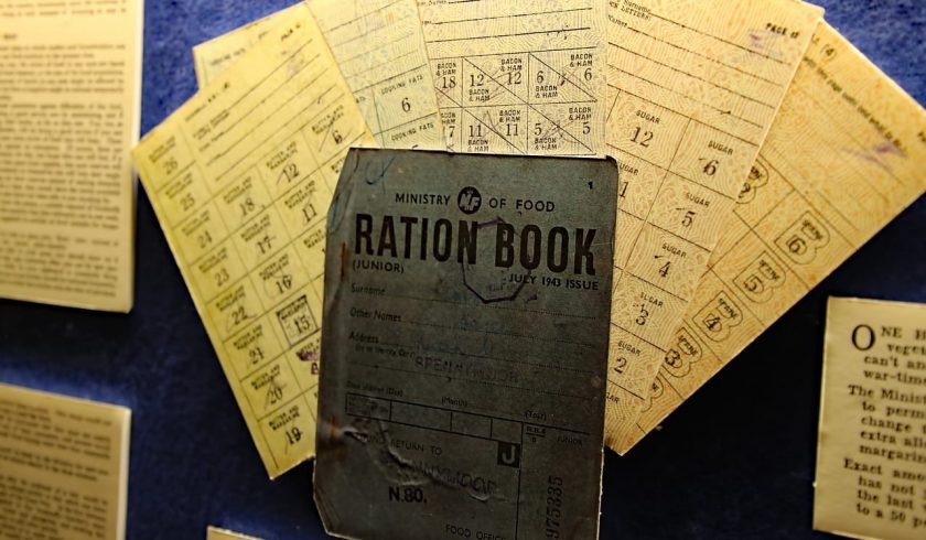 interesting facts about rationing