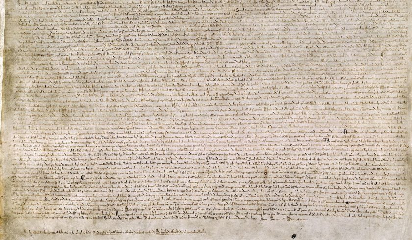 interesting facts about the Magna Carta