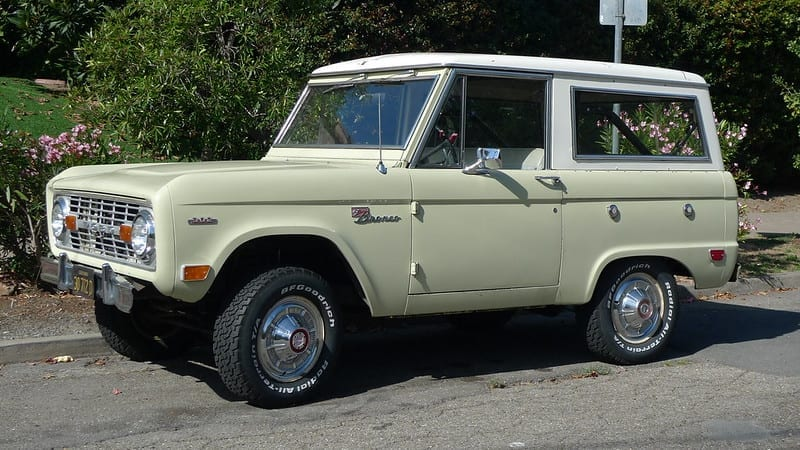 Ford Bronco Facts