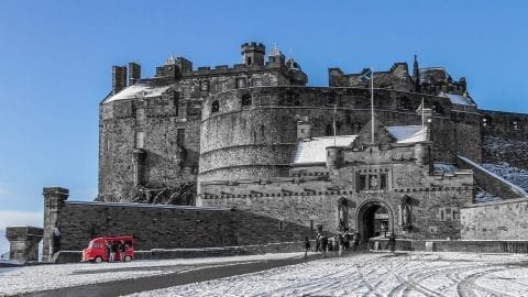 interesting Edinburgh Castle Facts